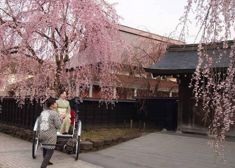 1. 가쿠노 다테무사 저택 거리를 산책