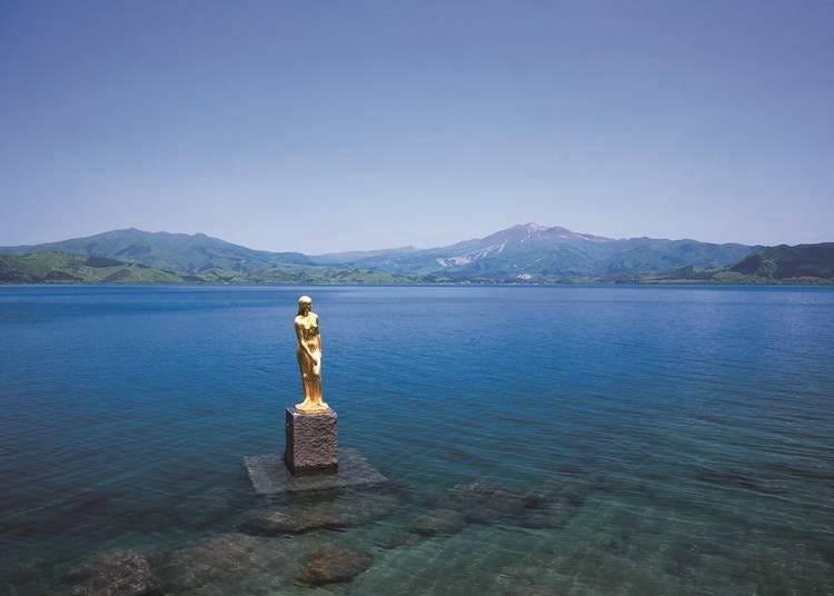 3. 일본에서 제일 깊은 호수 · 다자와코(호수)에서 유람선 크루즈