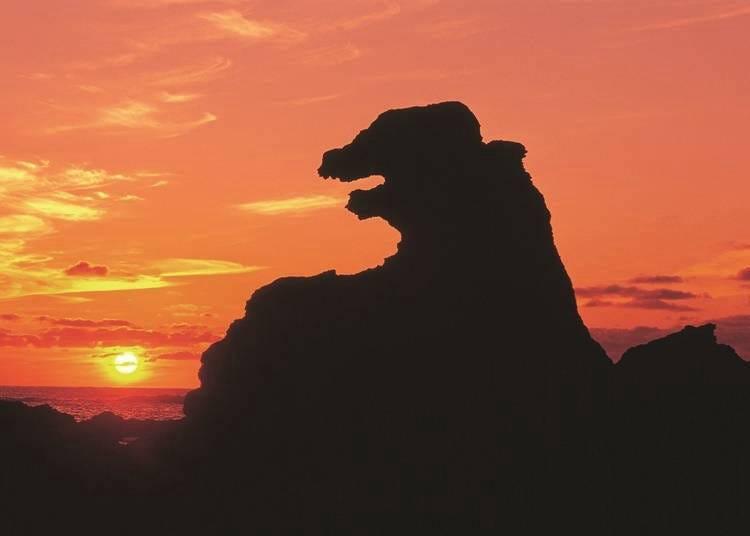 7. '고질라 바위'를 보고 싶다