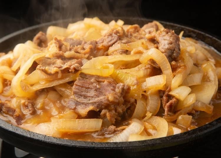 5. Bara-yaki: Grilled beef belly
