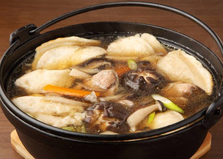 3.八户的仙贝汤