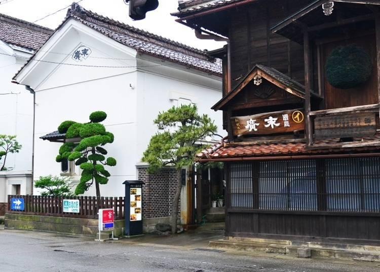 于1850年创业的老酒厂中认识日本酒的历史