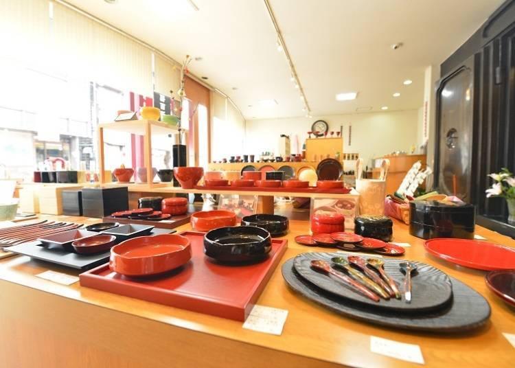 福島會津日本酒一日遊③送禮就選會津漆器的美麗酒器「福西漆器店」