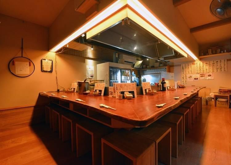 福島會津日本酒一日遊④會津美酒配上「籠太」用當地食材製作的料理