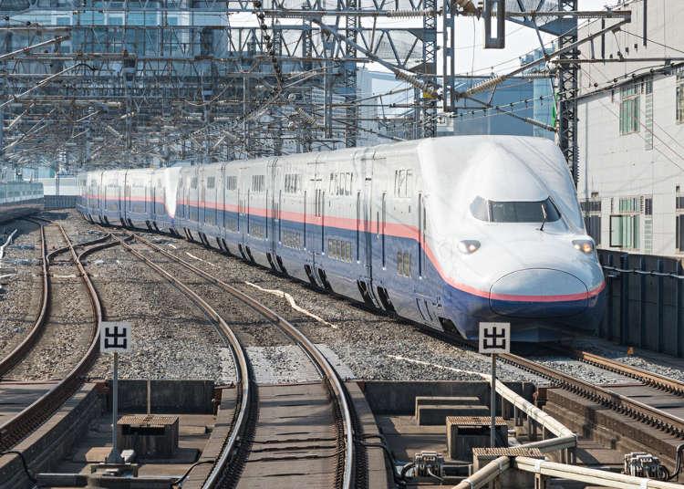 从东京出发大约只要2小时,前往新泻就搭乘上越新干线吧!