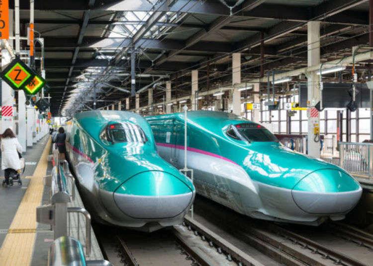 도호쿠 신칸센을 타고 도쿄에서 도호쿠(센다이・모리오카)로 출발!
