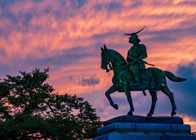 1. Historical Sites in Sendai: Masamune Date