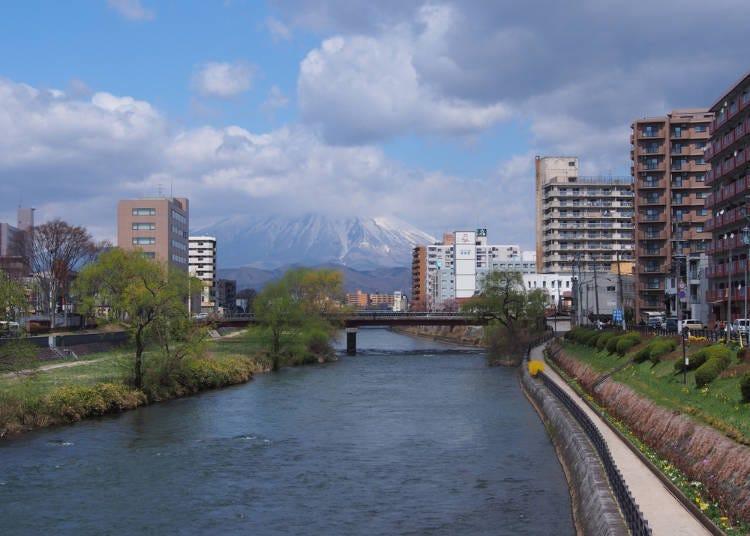 岩手山望む自然と共存した北の都市【盛岡】へ