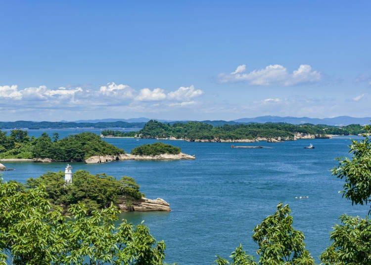 被称为日本三景之一的「松岛」
