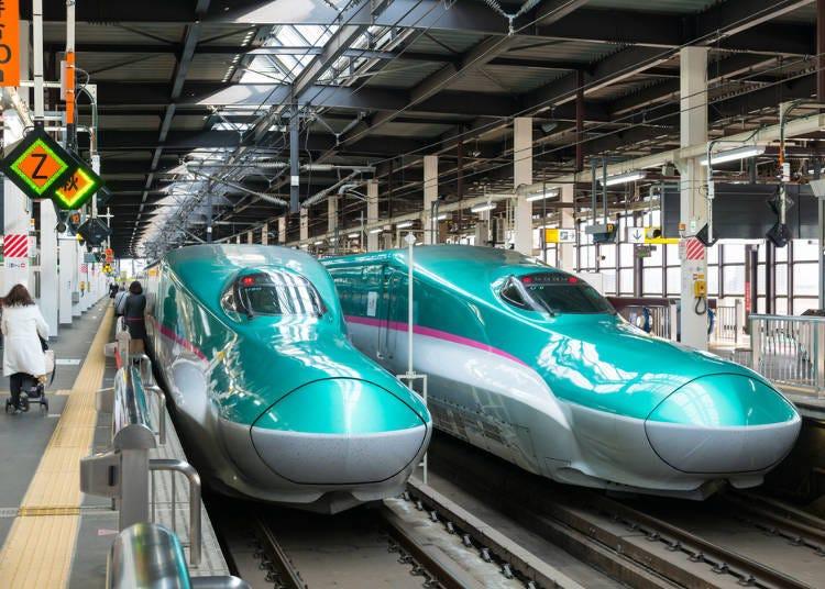 利用東北新幹線,從東京到仙台!