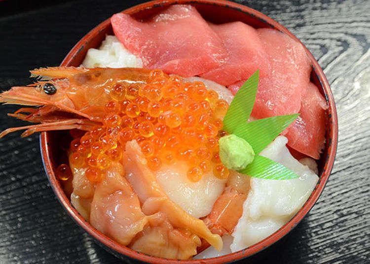 [시오가마 수산물 도매시장 완벽해부] 브랜드 참치 '히가시모노'를 '마이 카이센동'으로 원 없이 먹기