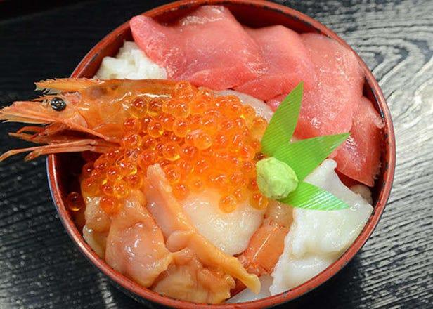 仙台出發約50分鐘!到鹽釜水產批發市場大啖名產「自製海鮮丼」!