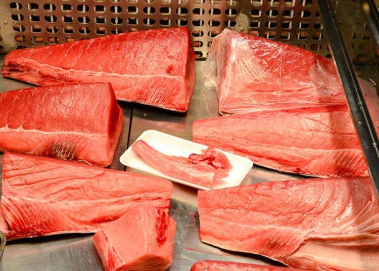 「鹽釜水產批發市場」各種三陸生鮮魚類超豐富!
