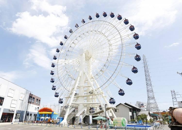 Mitsui Outlet Park Sendai Port Symbol Ferris Wheel