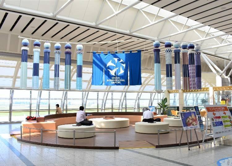 Tohoku's Largest International Airport
