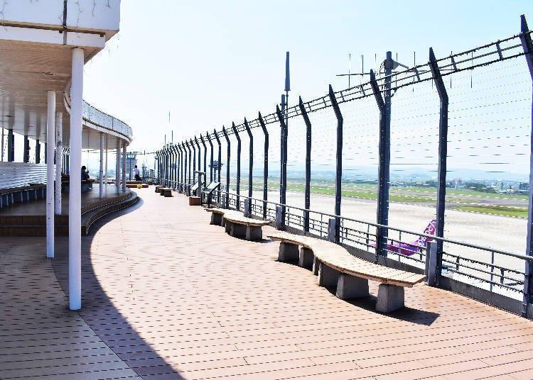 只有机场才能看到,令人兴奋的景色