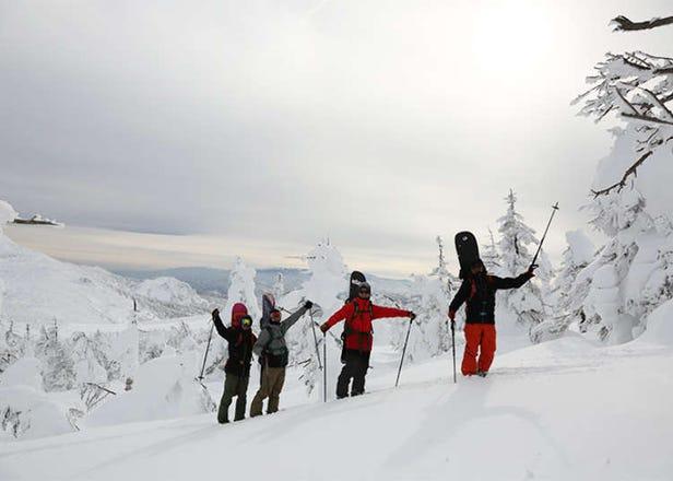 赏树冰、滑雪、漫步雪原乐趣兼具的山形藏王 SUMIKAWA Snow Park雪上车观光导览行程