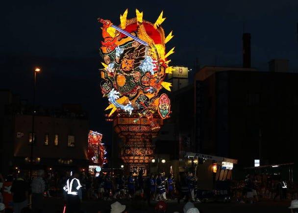2. Goshogawara Tachi Neputa Festival (August 4~8 every year)