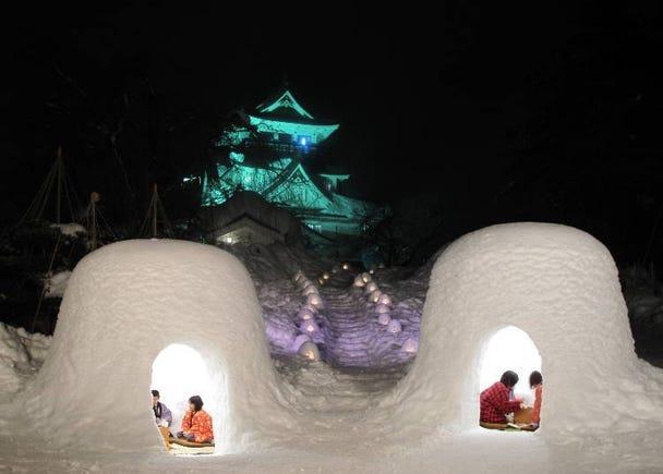 5. Yokote Snow Festival (Kamakura) (February 15~16 every year)