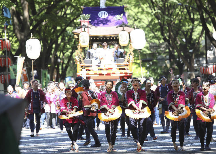 8. Sendai Aoba Festival (3rd Sunday in May, every year)