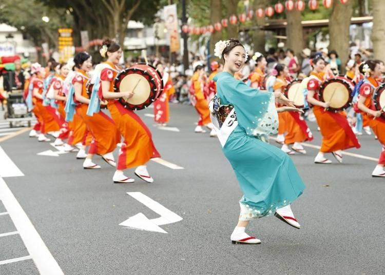 6.盛岡さんさ踊り 毎年8月1日~4日