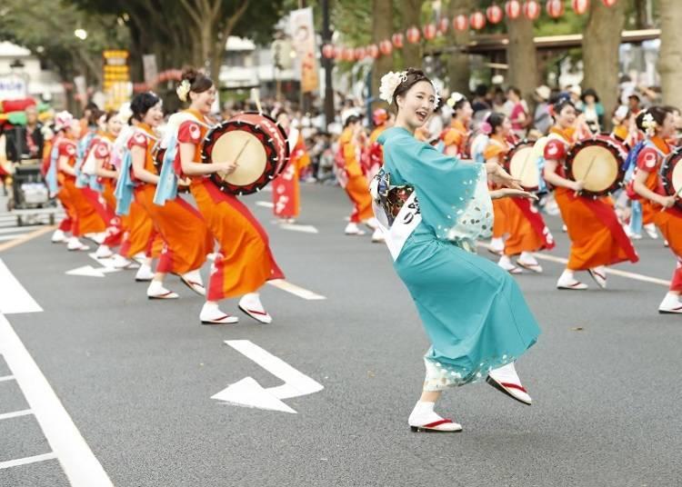 6.盛岡三颯舞祭 每年8月1日~4日