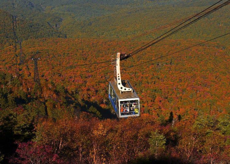 1.Hakkoda Mountain Range Best Time: Late September~Mid-October
