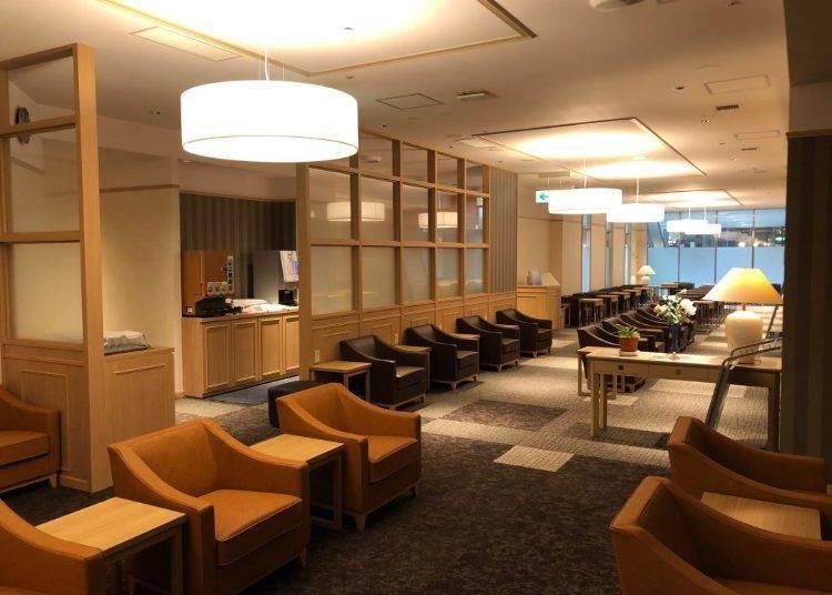 Airium Lounge: Take a Break in Style