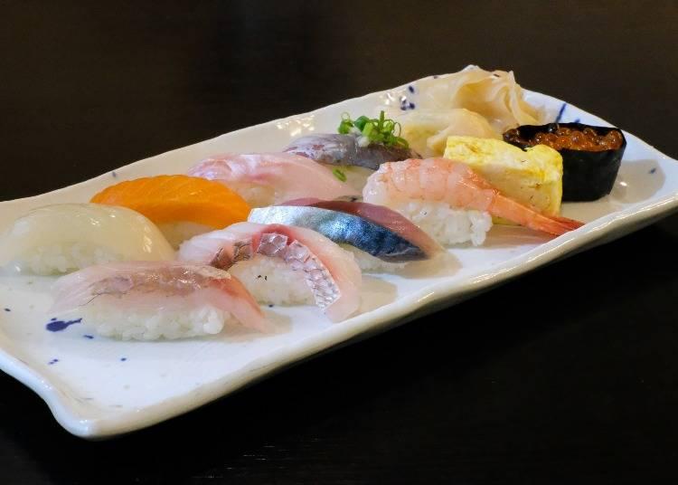 日本といえば、やっぱり寿司!「寿し かね清」