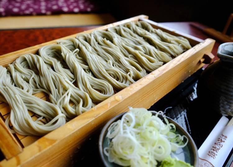 新潟ならではの蕎麦を空港で味わう「須坂屋そば」