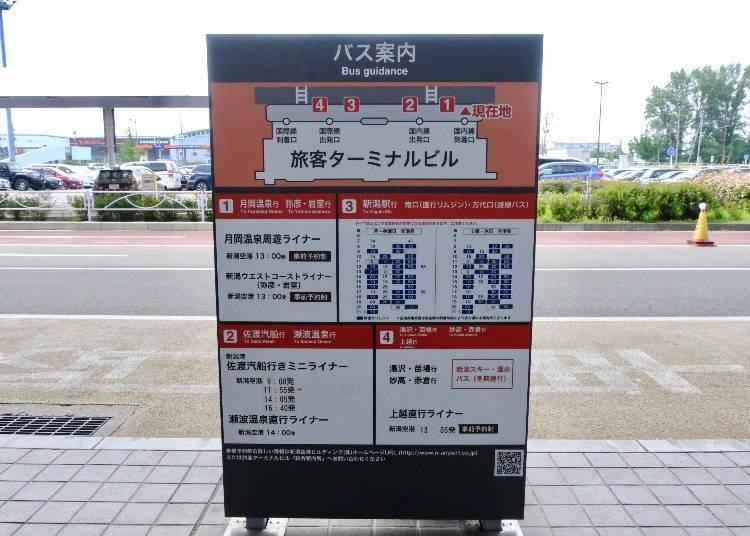 从新潟机场到新潟县内的观光景点,以及推荐的交通方式!