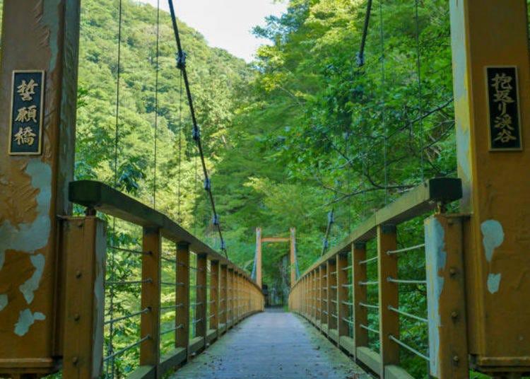 Mystical View of Dakigaeri Gorge From Seiganji