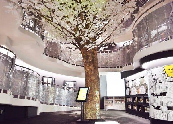 74名分の原画がずらりと並ぶ「常設展示室」