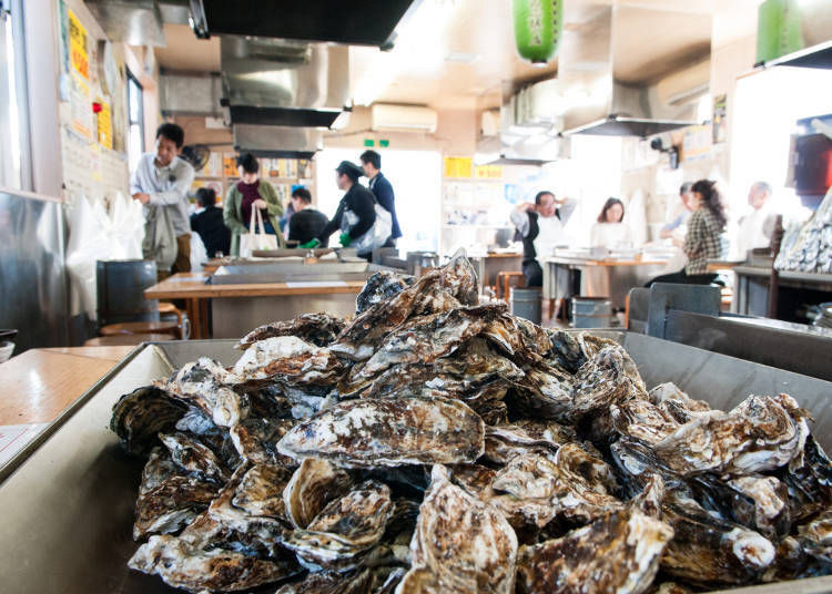 A 45-minute grilled oyster buffet: what kind of system is it?