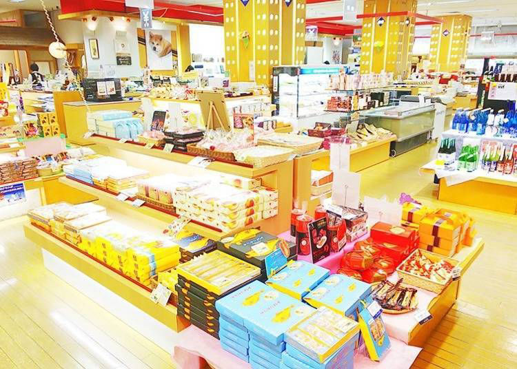 Akita Prefectural Goods Plaza: A must-go during your search for souvenirs