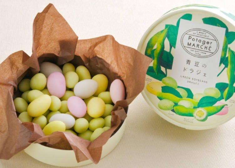 2. 毛豆巧克力的「青豆糖衣錠」