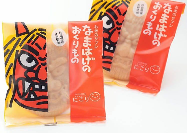 5. 香氣撲鼻的餅乾「生剝鬼禮物(なまはげのおくりもの)」
