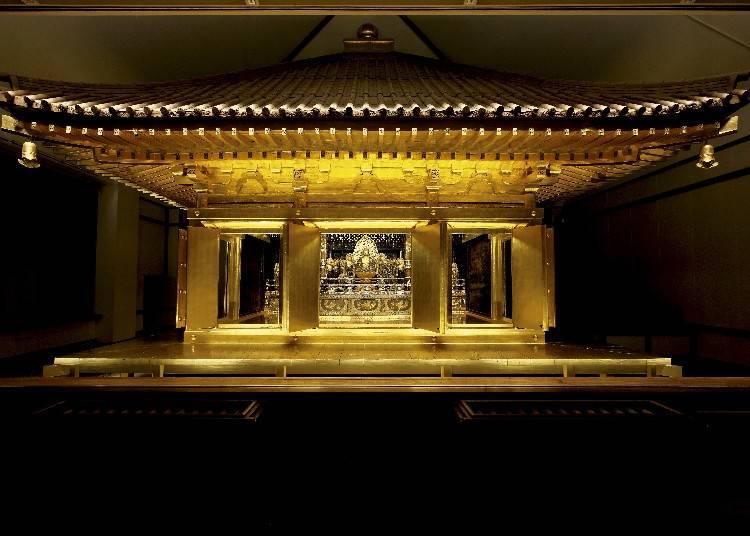 Konjikido: The Golden Hall of dreams