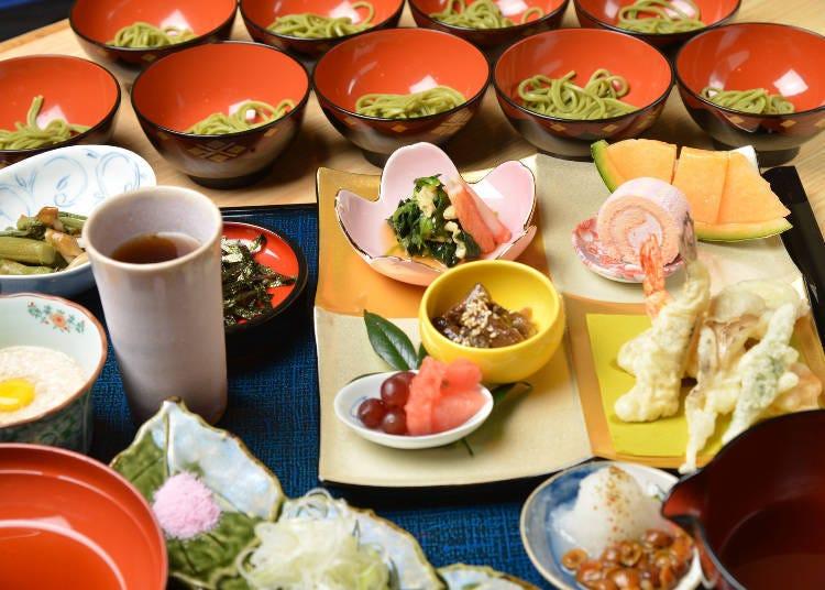 2. Sobadokoro Yoshiie: The Tsukimizaka's popular soba shop