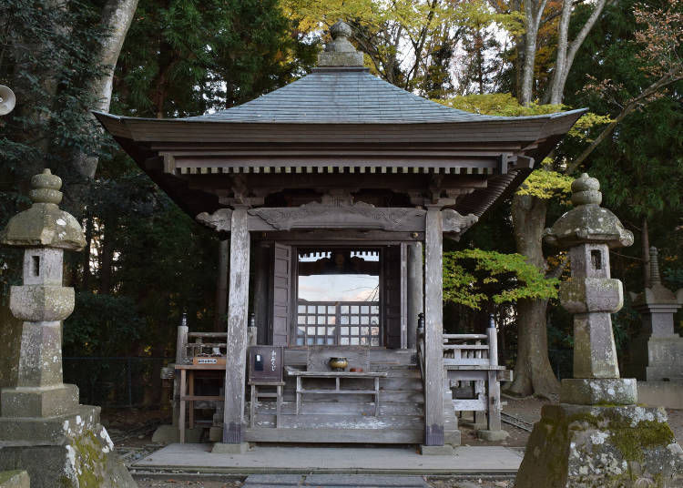 6. Takadachi Gikeido: A monument to commemorate Minamoto's end