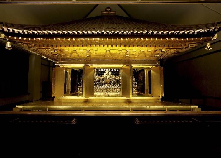 中尊寺創建当時から残る「金色堂」