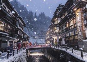 銀山温泉おすすめ温泉宿&観光スポット15選!冬の見どころやアクセスも詳しく紹介