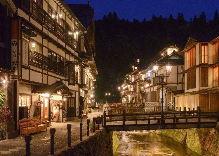 Getting to Ginzan Onsen