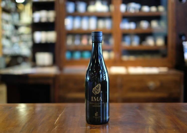清酒博物館的推薦酒②很適合牡蠣的「IMA 為了牡蠣而存在的日本酒」