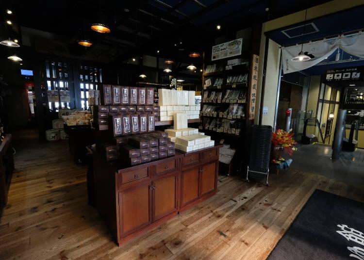 清酒博物館「PONSHU館」內還有其他各式各樣的商品!