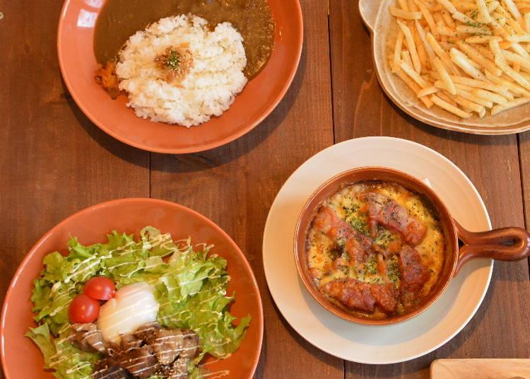 ディナーは外国人にも人気の「音茶屋」で!(所要時間:約1時間30分)