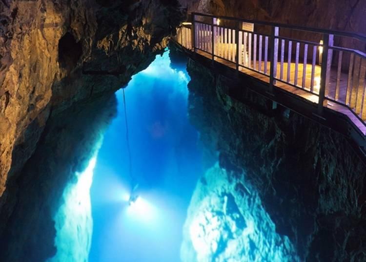 7. Ryusendo Cave (Iwate)