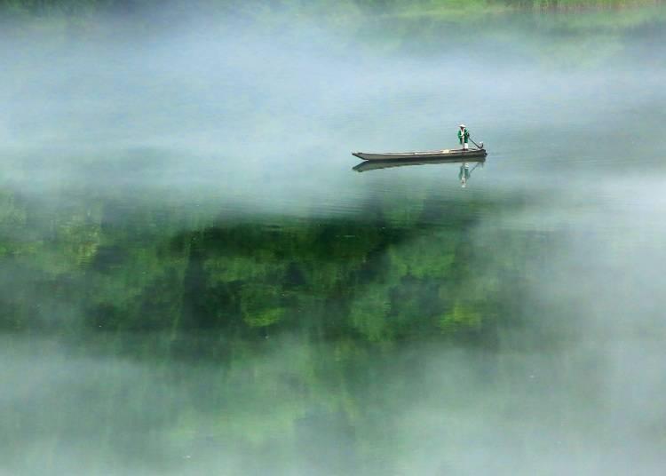 12.霧幻峡の渡し(福島)