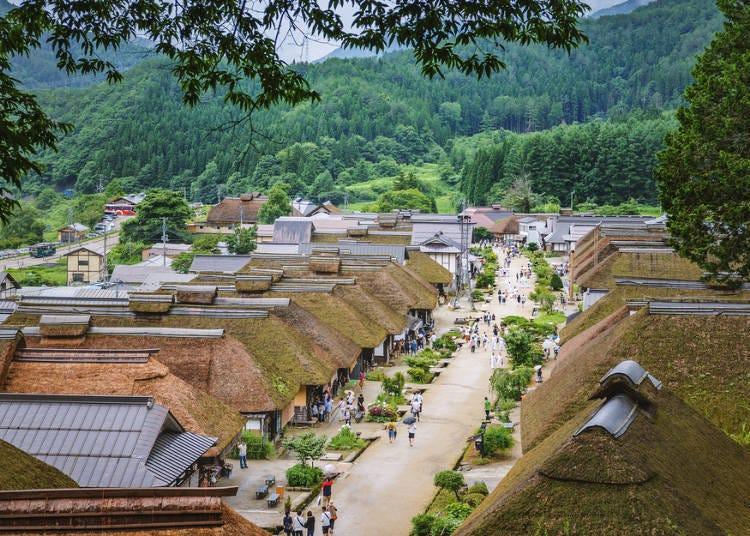 13. 오우치주쿠 마을 (후쿠시마)