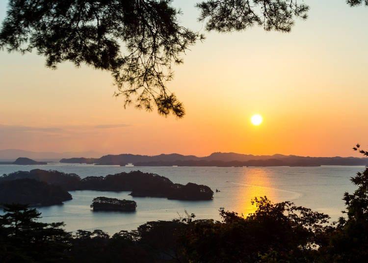 【宮城】日本三景之一的松島